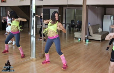 LYUBOV ZUMBA DANCE By CHEIKWORLD_REPORTER JUNE 2015