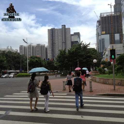 CHINA GUANGZHOU STREETLIFE TOWER By CHEIKWORLD_REPORTER JULY 2015