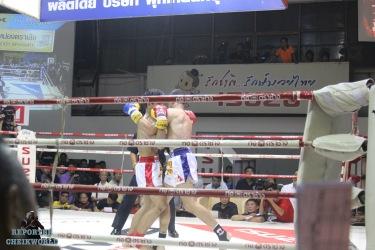 oussef BOUGHANEM remporte la ceinture de l'Omnoi par KO dans le 3eme round | STADIUM OMNOI BANGKOK AUGUST 2015 By Cheikworld Reporters