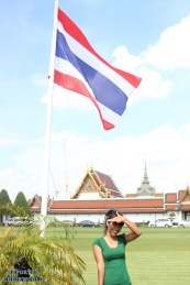 Bangkok : Wat Pho, bouddha couché August 2015 By Cheikworld Reporters