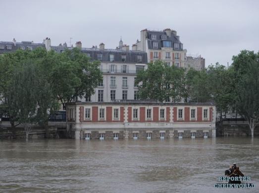 PHOTO | PARIS SOUS LES EAUX DE LA SEINE | JUIN 2016