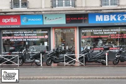 SCOOTER AVENUE PARIS