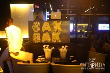 White Dream Paris - Birthday BAKBAK BASH - AUGUST 2016