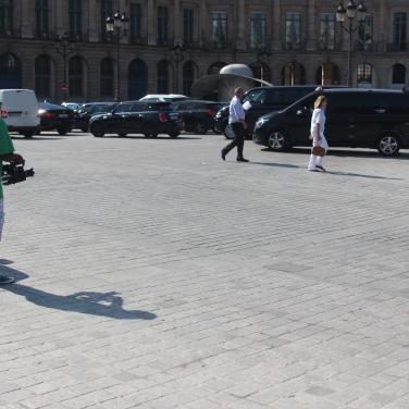 PHOTO | Making of Web serie avec Sitinapicture, Lucas Wood | Paris Place Vendôme 14/09/2016 Cheikworld Reporter